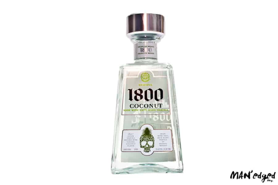 1800 Tequila Coconut flavored bottle for Cinco De Mayo