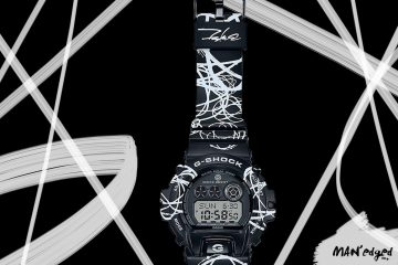 The men's G-Shock x Futura watch Collaboration Launch