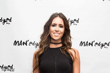 Kelleigh Bannen at the MAN'edged Magazine New York Fashion Week Men's