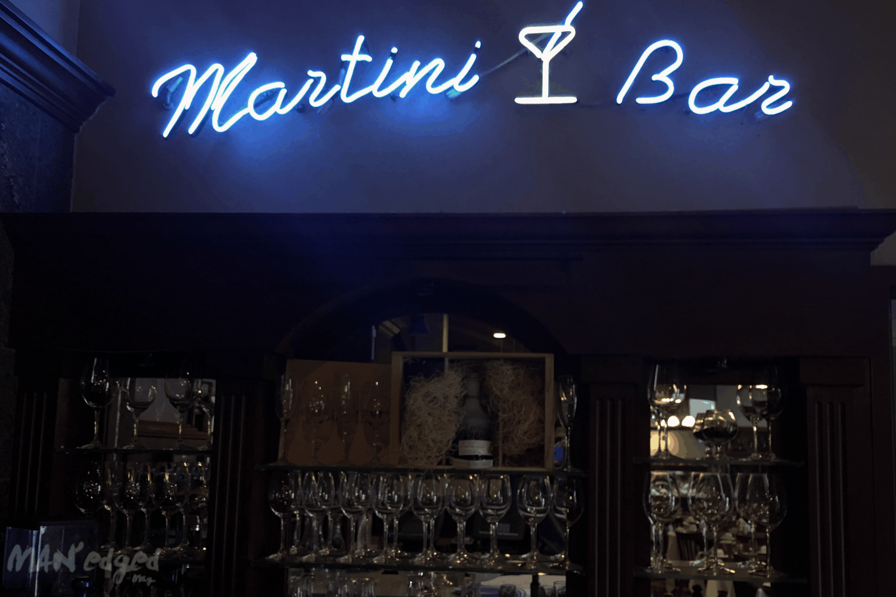 martini bar and bar
