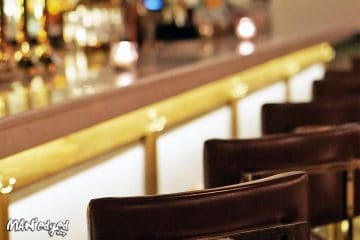 Bar chairs at new nyc restaurant
