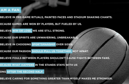 Dove Men + Care Real Strength Manifesto March Madness