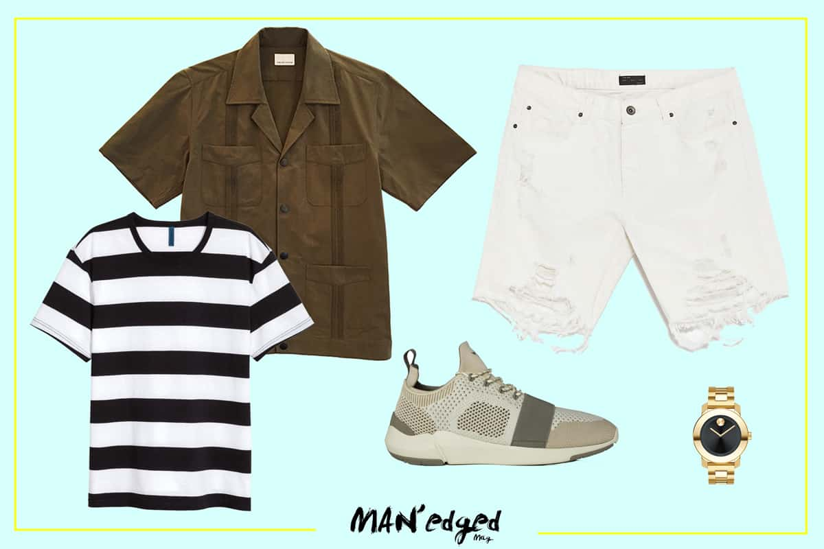Ultimate men's summer style guide featured look one