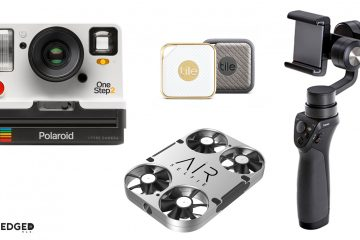 Tech gifts in MAN'edged Magazine's best gift ideas for the tech guy