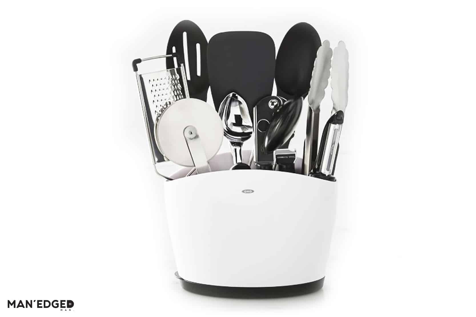 Gifts to Give to the Chef Guy or anyone that enjoys the kitchen OXO kitchen utencil set