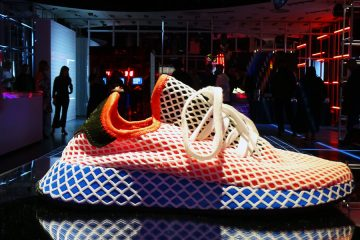 Champs x Adidas Originals Deerupt Pop up in New York Times Square